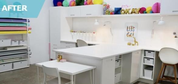 IKEA workspace / Screenshot via IKEA USA's YouTube Channel
