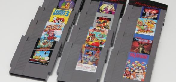 NES cartridges. Bring back those memories - Flickr, hades2k