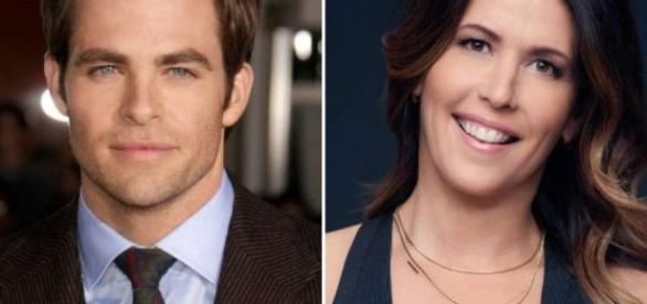 Patty Jenkins, Chris Pine Reunite (via YouTube - Warner Bros. Pictures)