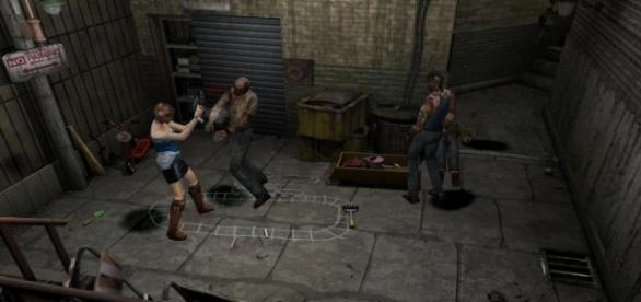 Play as Jill Valentine and escape Raccoon City in 'Resident Evil 3'. (image source: YouTube/Free Emulator)