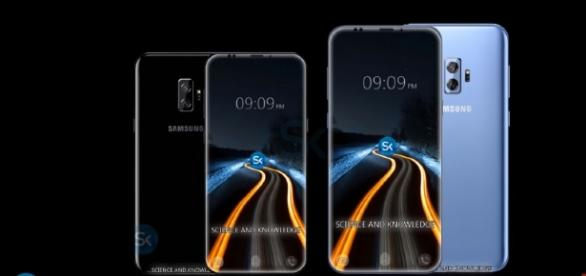 Samsung Galaxy S9. [Image via YouTube/Science and Knowledge]