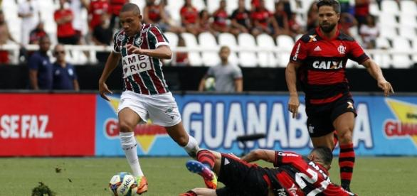 Wellington Silva segue especulado no mercado internacional (Foto: Blog da Flusócio)