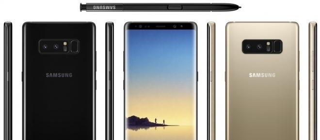 Samsung Galaxy Note 8 : Prix, Design, Caractéristiques