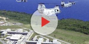 La base statunitense sull'isola di Guam, nell'oceano Pacifico