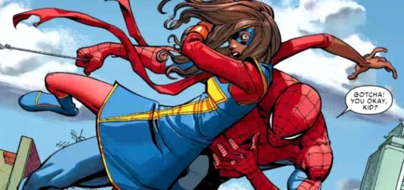 "Amazing Spider-Man #7 ""Ms.Marvel Edge of Spider-Verse"" - YouTube/ComicBookCast2"