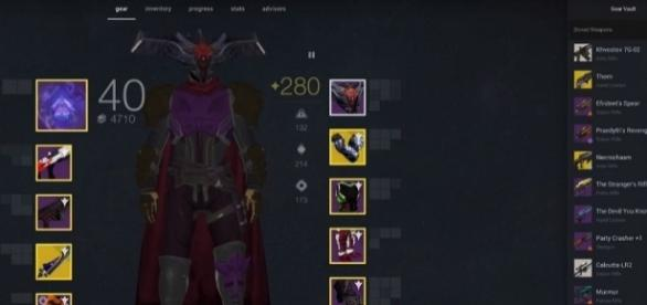 Destiny 2 Gear Manager Bungie (TrivialTurtle - Destiny 2/YouTube Screenshot)