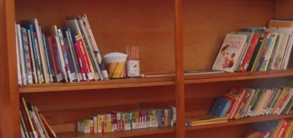 I testi di una biblioteca scolastica