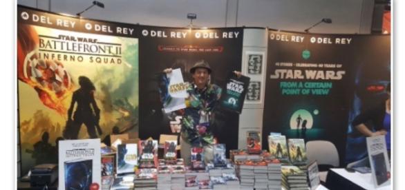 Star Wars Del Rey Booth via Twitter