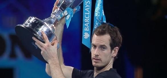 Andy Murray celebrating 2016 ATP Finals title/ Photo: screenshot via ATPWorld Tour channel on YouTube