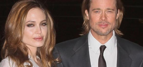 Angelina Jolie and Brad Pitt - Splash News TV/YouTube Screenshot
