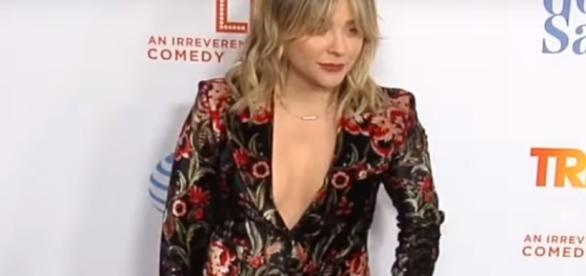 Chloe Grace Moretz said Aaron Carter was her crash when she was little. Image[MaximoTv-YouTube]