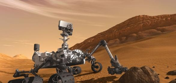 Curiosity Rover in Mars | NASA | Wikimedia