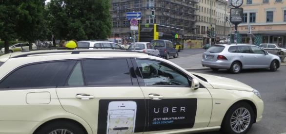 Riding an Uber Taxi | illustir | Flickr