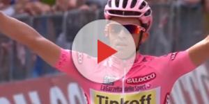 Alberto Contador al Giro d'Italia 2015.