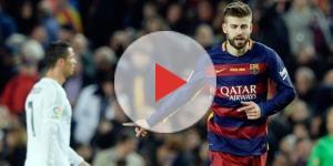Golazo de Gerard Piqué de cabeza al Barcelona en el Clásico - Diez ... - diez.hn