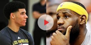 Image via Youtube channel: The Fumble #LeBronJames #LonzoBall
