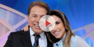 Silvio Santos e sua filha, Patrícia Abravanel
