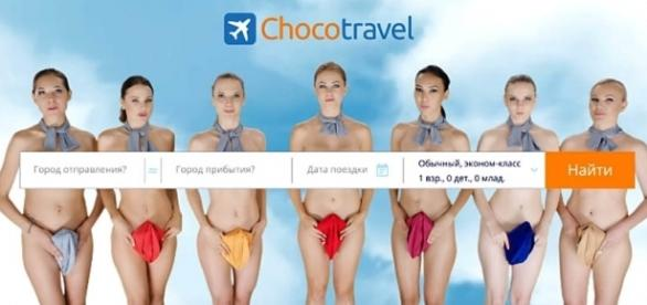 Chocotravel made a new video ad which is drawing widespread condemnation [Image: YouTube/Chocotravel. com]