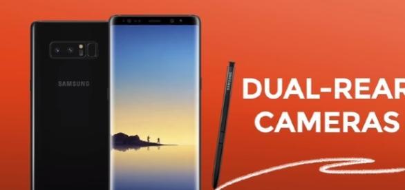 Galaxy Note 8 - YouTube/GadgetMatch Channel