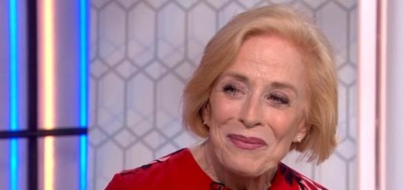 "Holland Taylor was interviewed about her role as Ida Silver in ""Mr. Mercedes"" [Image: YouTube/TODAY]"