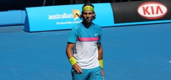 Nadal on court / Brett Marlow, | Flickr