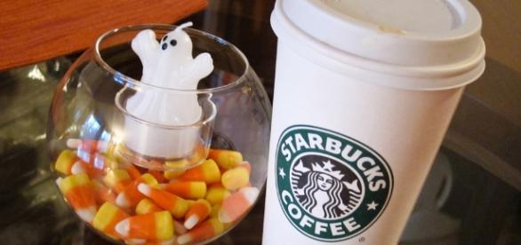 Starbucks flavored latte / Photo via Josh Madison, Flickr