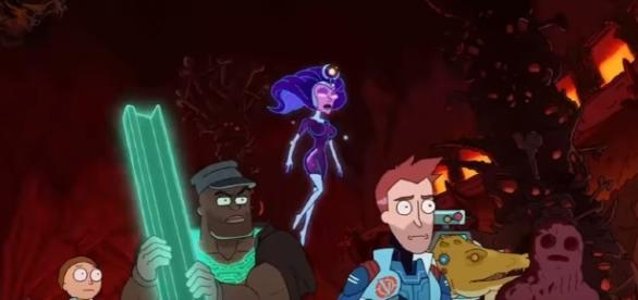 "The Vindicators are on a mission to defeat Worldender in ""Rick and Morty"" Season 3 Episode 4. (Photo:YouTube/Adult Swim)"