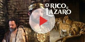 Daniel é levado por Dário para a cova dos leões em 'O Rico e Lázaro'