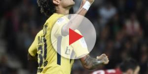Neymar Jr. comora seu primeiro gol com a camisa do PSG