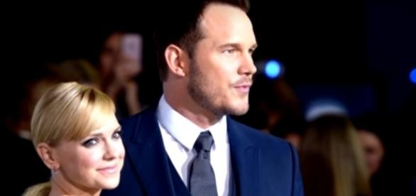 Chris Pratt, Anna Faris - YouTube screenshot | Entertainment Tonight/https://www.youtube.com/watch?v=U_5WL7OZgYk&t=4s