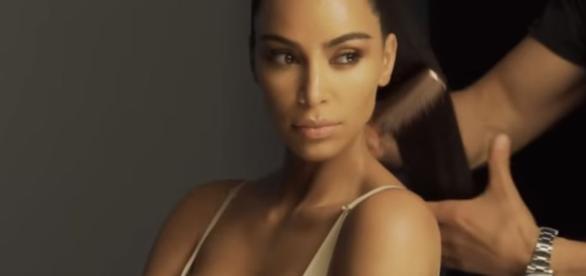 Kim Kardashian said being a mom changed her. Image[KKW-YouTube]