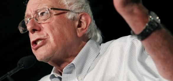 Socialist and Independent Bernie Sanders. (YouTube screen shot)