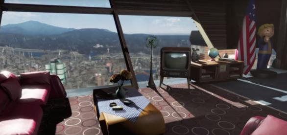 The VTO mod allows players to create a flying house that can travel anywhere. Photo via BRT Gaming/YouTube