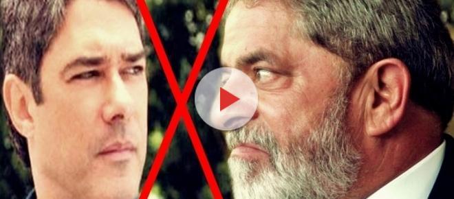 Nervos à flor da pele: Lula provoca e ameaça jornalista William Bonner e a Globo