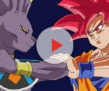 Imagen de Goku y Bills de Dragon Ball Super