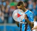 Luan comemora gol pelo Tricolor (Foto: Reprodução/G1)