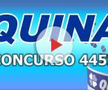 Resultado da Quina pelo concurso 4455