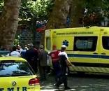 Socorro foi prestado por dezenas de operacionais dos bombeiros e do EMIR