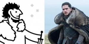 Game of Thrones vous attend sur le mur grâce à Ikea (© DR)