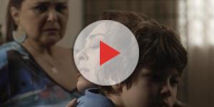 Bibi revela que Caio é o pai biológico de Dedé