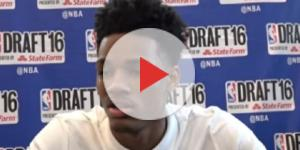 Dejounte Murray played just 38 games last season, averaging 3.4 points, 1.1 rebounds and 1.3 assists -- DraftExpress via YouTube