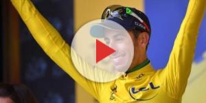 Fabio Aru in maglia gialla al Tour de France