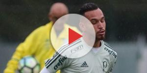 Jogador fez uma partida com o time profissional do Palmeiras