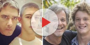 Os filhos de William Bonner e o de Marcelo Novaes são os que mais se parecem com seus pais