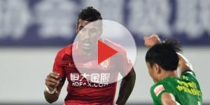 Paulinho sous les couleurs du Guangzhou Evergrande la saison dernière (© DR)