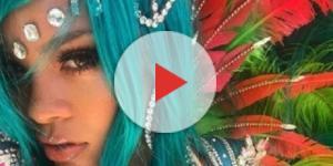 Rihanna esteve em um festival do Barbados (Foto: Instagram)
