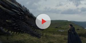 A tão aguardada interação de Jon com Drogon, que o deixa tocá-lo