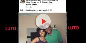 Homenagem de filha para o pai que a matou comove o Brasil