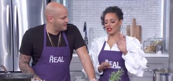 Mel B Hits the Kitchen with Her Hubby but nanny denies her role in divorce - Image |The Real Daytime | YouTube