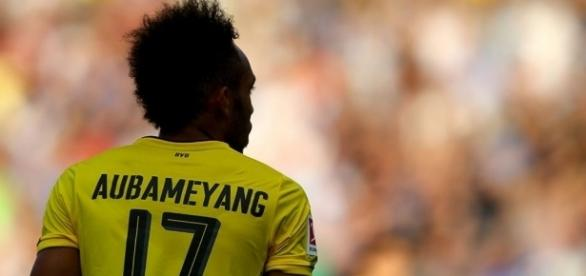 Pierre-Emerick Aubameyang has stayed at Borussia Dortmund but can his goals fire them to the title? Source: Bleacher Report